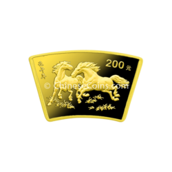 2002-200yuan-gold-horse-fan-rev