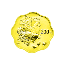 2005_200Y_gold_rooster_scallop_coin-rev