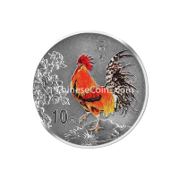 2005-1oz-silver-rooster-color-coin-rev