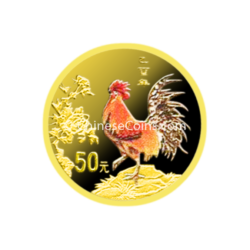 2005-tenth-oz-gold-rooster-color-rev