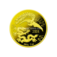 china-1990-2oz-gold-dragon-phoenix-coin-rev