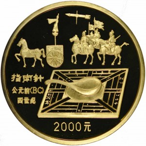 1992 inventions and discoveries 1 kilo gold compass reverse