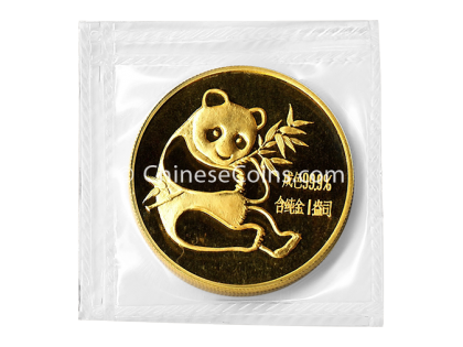 1982 1 oz Gold Panda Coin